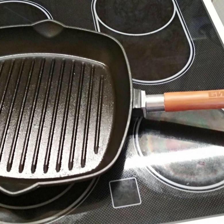 подготовка сковороды к использованию