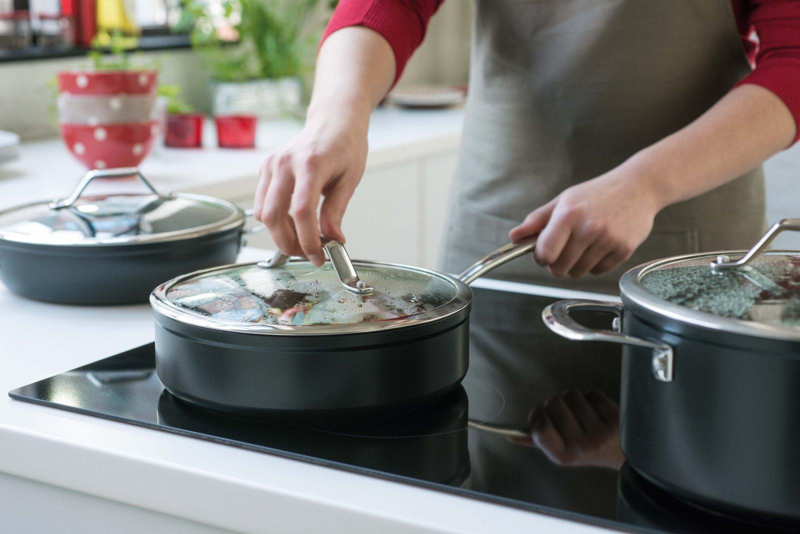 посуда для стеклокерамической плиты виды