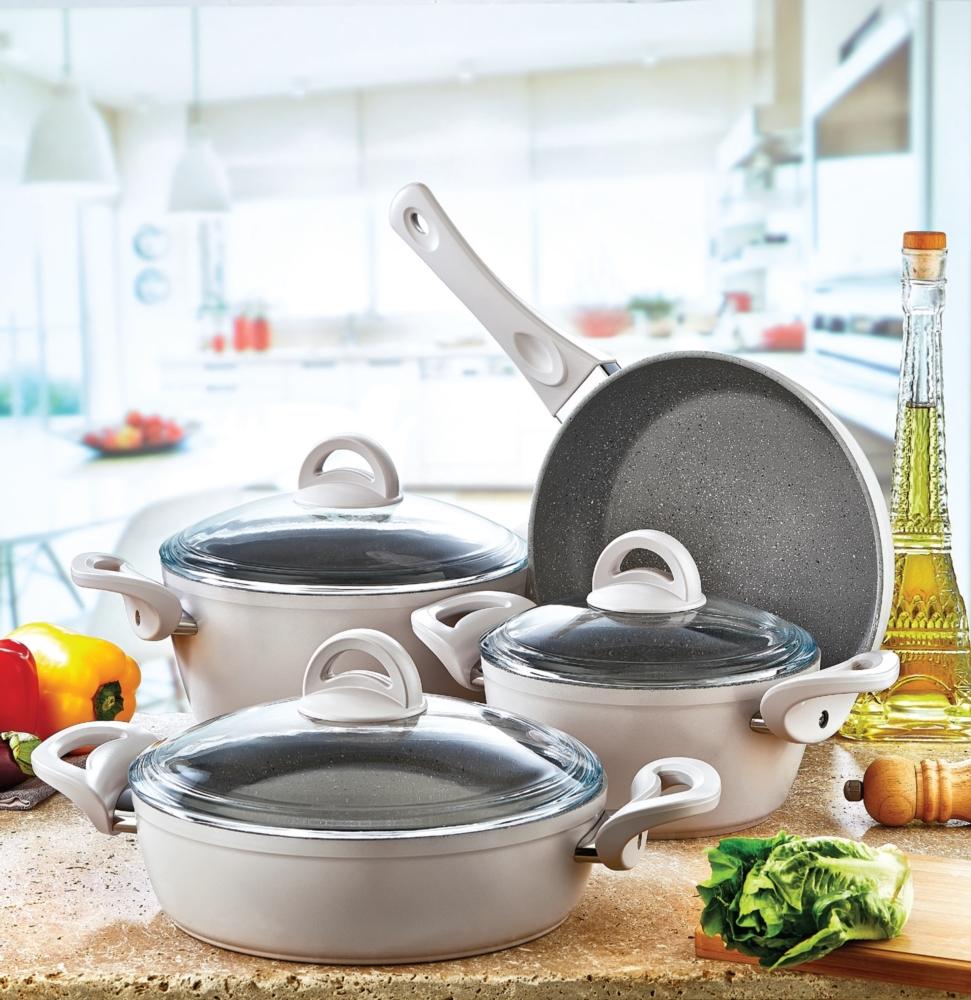 посуда с мраморным покрытием