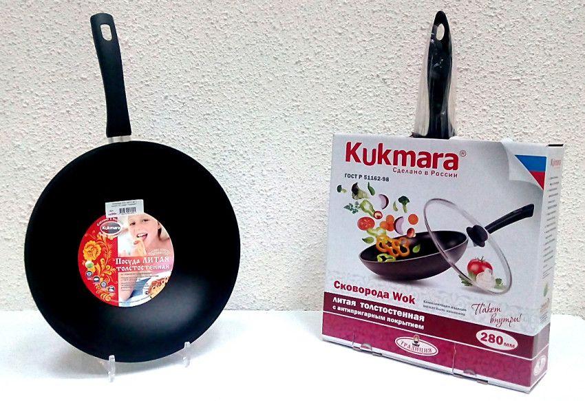 сковорода wok Kukmara