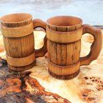 деревянная кружка для пива