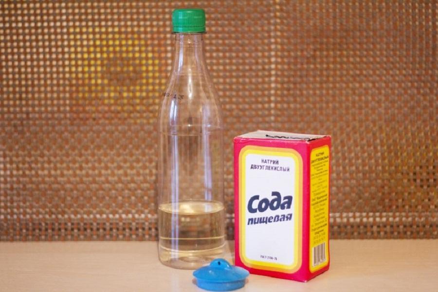 уксус сода