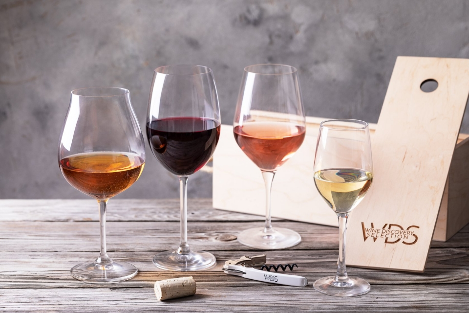 варианты бокалов для вина