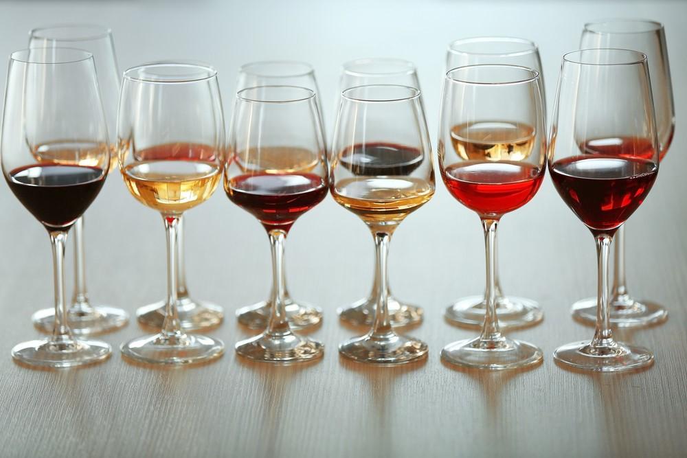 виды бокалов для вина