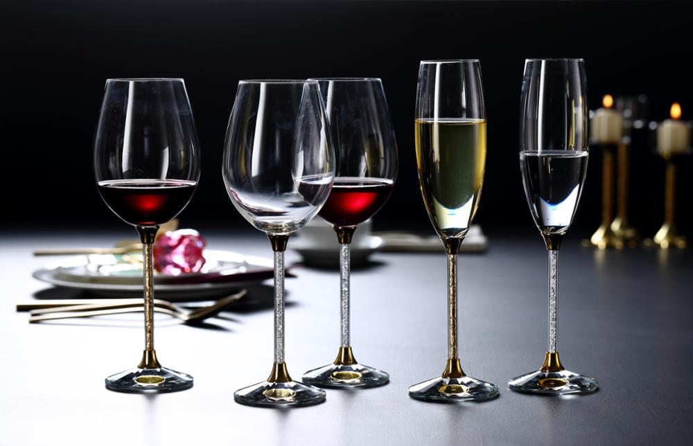 виды бокалов