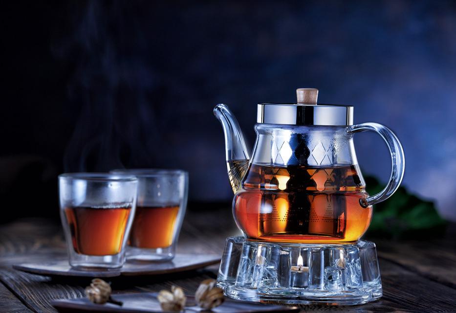 заварочный чайник с подогревом от свечи дизайн