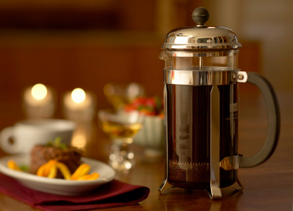 заварочный чайник френч пресс фото