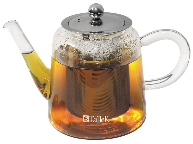 заварочный чайник Taller стеклянный