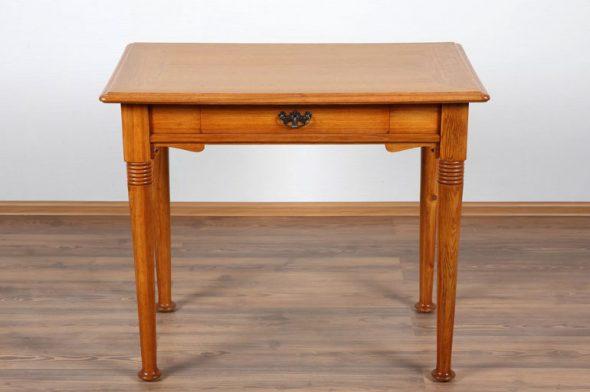 Ломберный стол с цельной столешницей
